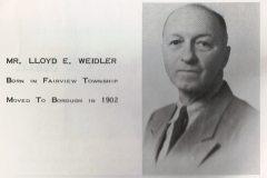 Mr. Lloyd E. Weidler