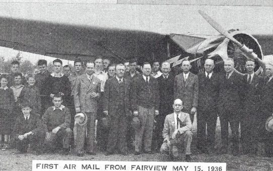 Centennial Booklet Photos- Fairview Airport