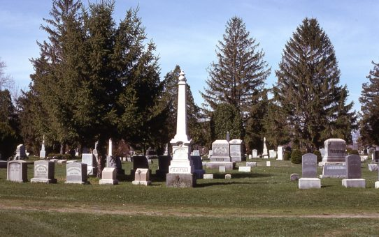 The Fairview Centennial Booklet - The Cemetery
